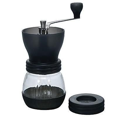 黑色玻璃瓶手搖磨豆機