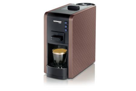 買咖啡豆送咖啡機優惠套餐 - German Pool 隨芯咖啡機(啡色) Plan A
