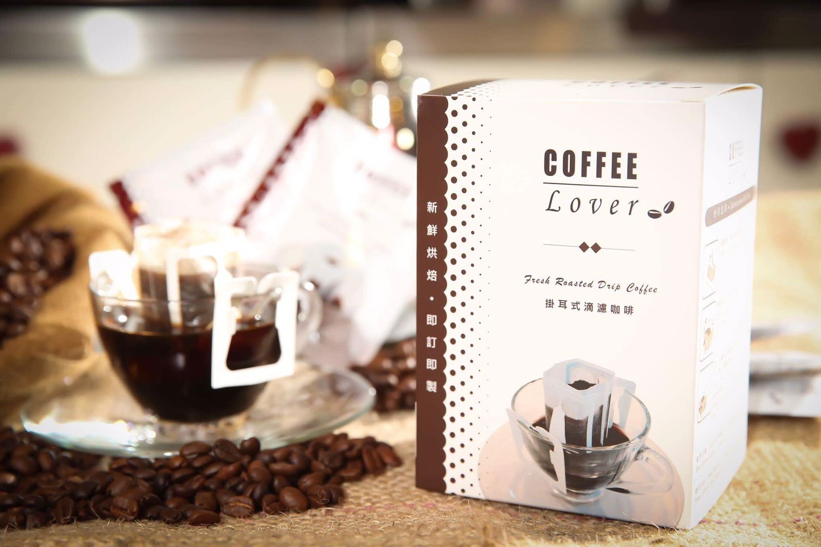 COFFEE Lover 掛耳包 (一盒十包)