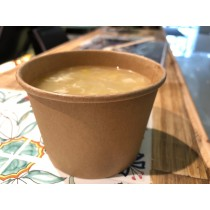 雞蓉竹笙粟米羹 Corn with chicken soup