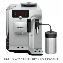 Bosch Selection 300 TES803M9GB
